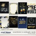 Countdown to Midnight: Cards by lliella designs