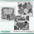 Cindy's Layered Templates - Trio Pack 34: Just for Journaling 15 by Cindy Schneider