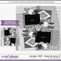 Cindy's Layered Templates - Single 162: Then and Now 2 by Cindy Schneider