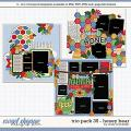 Cindy's Layered Templates - Trio Pack 35: Honey Bear by Cindy Schneider