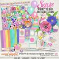 Believe in Magic Magical Birthday - Girl Collection by Amber Shaw & Studio Flergs