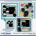 Cindy's Layered Templates - Trio Pack 38: Magical Birthday {Boy} by Cindy Schneider