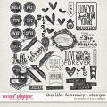 This Life: February - Stamps by Amanda Yi & Juno Designs