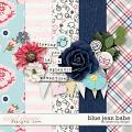 Blue Jean Babe by Dream Big Designs