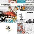 Cityscape Cards by Studio Basic Little Butterfly Wings