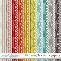 Let Them Play: Extra Papers by Grace Lee