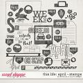 This Life: April - Stamps by Amanda Yi & Juno Designs