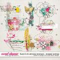 Here's To Strong Women Messy Extras by Red Ivy Design and Studio Basic