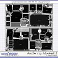 Cindy's Layered Templates - Double It Up: Blocked 11 by Cindy Schneider
