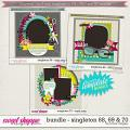 Brook's Templates - Bundle - Singleton 68, 69 & 70 by Brook Magee