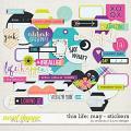 This Life: May - Stickers by Amanda Yi & Juno Designs