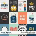 Drama King {cards} by Blagovesta Gosheva