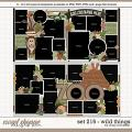 Cindy's Layered Templates - Set 216: Wild Things by Cindy Schneider