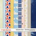 Beach Fun - Bonus Papers by Red Ivy Design