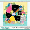 Cindy's Layered Templates - Single 167: Summer Sensation 8 by Cindy Schneider