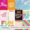 Out and About: At the Fair Cards by Grace Lee