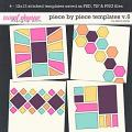*FREE with your $10 Purchase* Piece by Piece v.6 Templates by Erica Zane