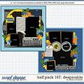 Cindy's Layered Templates - Half Pack 197: Despicable by Cindy Schneider