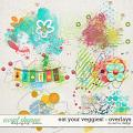 Eat Your Veggies! - Overlays by Red Ivy Design