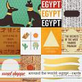 Around the world: Egypt - Cards by Amanda Yi and WendyP Designs