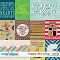 Happy day camp - cards by WendyP Designs
