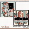 Cindy's Layered Templates - Half Pack 204: Finally Fall by Cindy Schneider