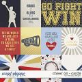 Cheer on - cards by WendyP Designs