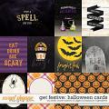 Get Festive: Halloween | Cards by Kristin Cronin-Barrow & Digital Scrapbook Ingredients