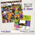 October 31 Bundle by Digital Scrapbook Ingredients