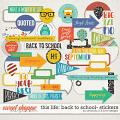 This Life: Back To School- Stickers by Amanda Yi & Juno Designs