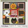 Brook's Templates - Singleton 76 - Happy Halloween by Brook Magee