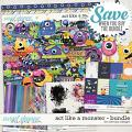 Act like a monster - bundle by WendyP Designs