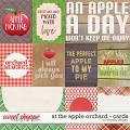 At the apple orchard - cards by WendyP Designs