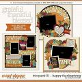 Cindy's Layered Templates - Trio Pack 51: Happy Thanksgiving by Cindy Schneider