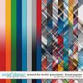 Around the world: Greenland - Bonus Papers by Amanda Yi & WendyP Designs