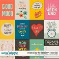 Monday to Friday {cards} by Blagovesta Gosheva & Vesi Designs
