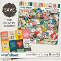 Monday to Friday {bundle} by Blagovesta Gosheva & Vesi Designs