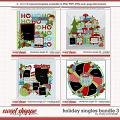 Cindy's Layered Templates - Holiday Singles Bundle 3 by Cindy Schneider