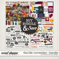 This Life: November - Bundle by Amanda Yi & Juno Designs