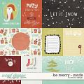 Be Merry - Cards by Red Ivy Design