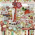Be Merry by Red Ivy Design