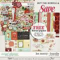 Be Merry - Bundle by Red Ivy Design