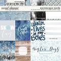 Snowscape Cards by Studio Basic and Little Butterfly Wings