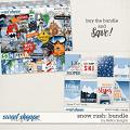 Snow Rush: Bundle by lliella designs