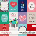 You Are Loved {cards} by Blagovesta Gosheva & Vesi Design