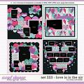 Cindy's Layered Templates - Set 223: Love is in the Air by Cindy Schneider