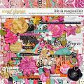 Life Is Magical by River Rose Designs, Studio Basic Designs & Digital Scrapbook Ingredients