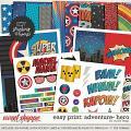 Adventure: HERO- EZ PRINT by Studio Flergs