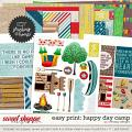 Easy Print: Happy day camp by WendyP Designs