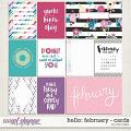 Hello: February Cards by Traci Reed